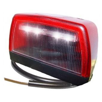 Eclaireur de Plaque à LED + feu de position arrière